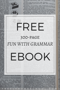 Free 300-page Fun with Grammar eBook Activities Games