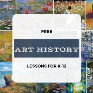 Art history lessons for K-12. These include lesson plans, images of classical artwork, artist bios, and you may even loan materials (US snail mail) for free!