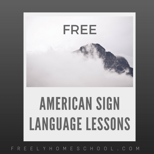 Free American Sign Language Courses