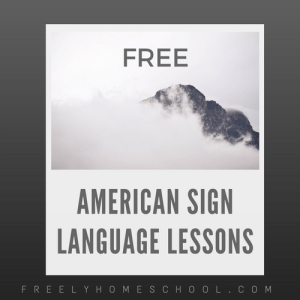 Free American Sign Language Lessons