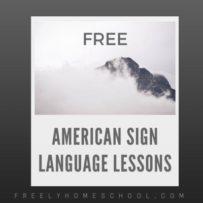 Free Online American Sign Language Courses