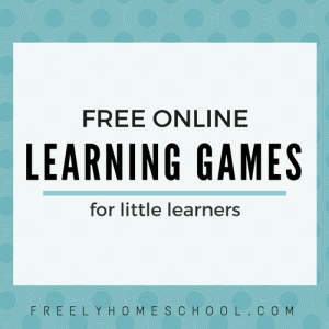 Free Online Learning Games for Preschool to Kindergarten