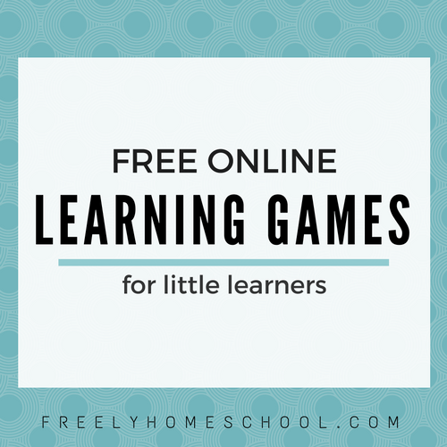A Favorite Freebie Learning Games For Preschool Kindergarten And Lower Elementary Kids