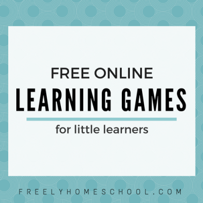 A Favorite Freebie:  Learning Games for Preschool, Kindergarten, and lower Elementary Kids