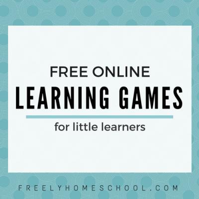 A Favorite Freebie:  Learning Games for Preschool, Kindergarten, and lower Elementary Kids