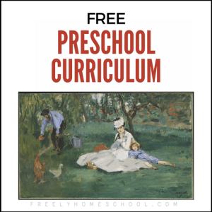 Free Preschool Reading Curriculum
