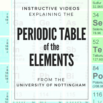 The Periodic Table of the Elements explained by scientists at the University of Nottingham (free!)