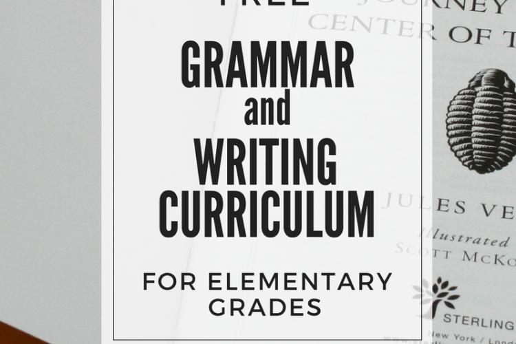 Free Grammar & Writing Curriculum for Elementary Grades