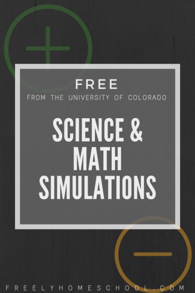 Free Science & Math Simulations