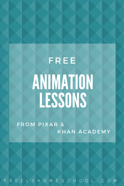 Free Animation Lessons from Pixar