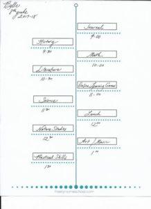 free homeschool printable schedule