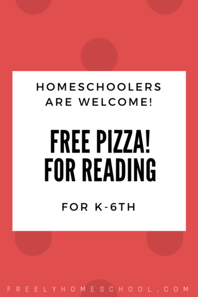 Free Pizza for Reading