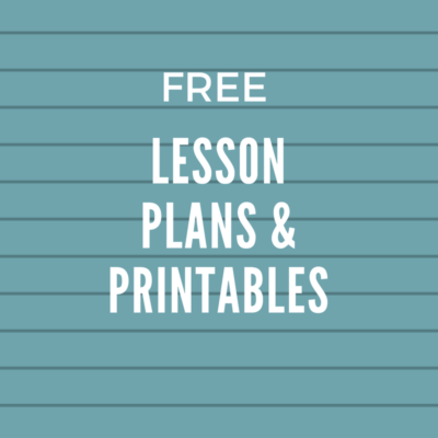 Free Lesson Plans & Printables for Homeschoolers (selection changes often)