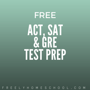 Free SAT, ACT & GRE Testing Prep