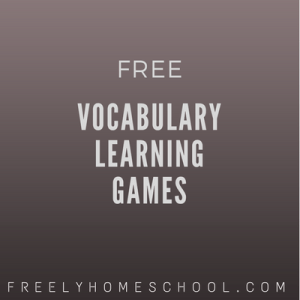 free vocabulary learning games