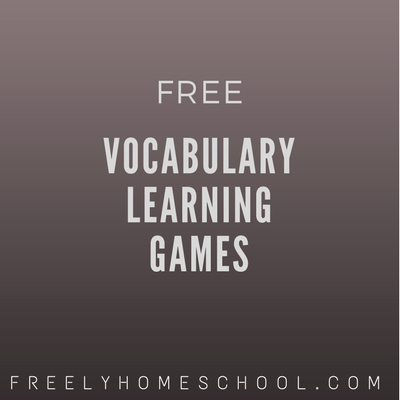 Free Vocabulary Learning Games for K-12