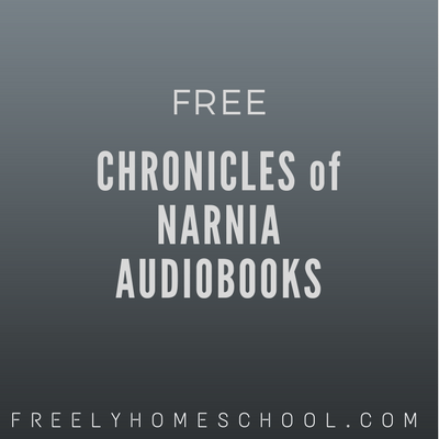 Free Chronicles of Narnia Audiobooks (high quality ones!)