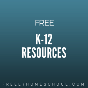 free K-12 resources