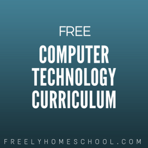 free computer technology curriculum