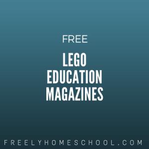 free Lego education magazines