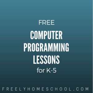 free computer programming lessons for elementary