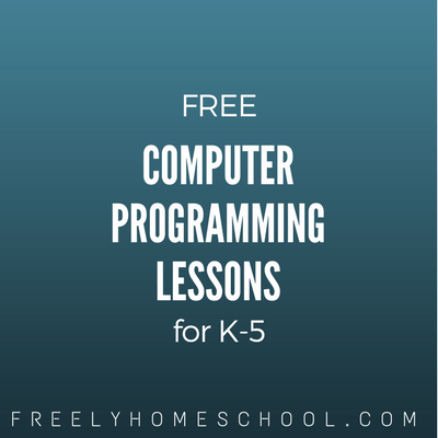 Free Computer Programming for Kids (K-5th Grade)