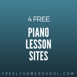4 free piano lessons sites