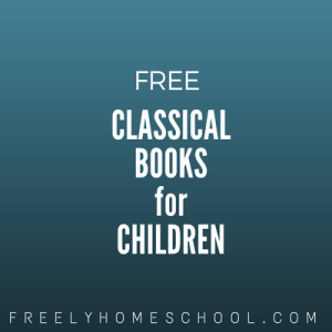 free classical books for children