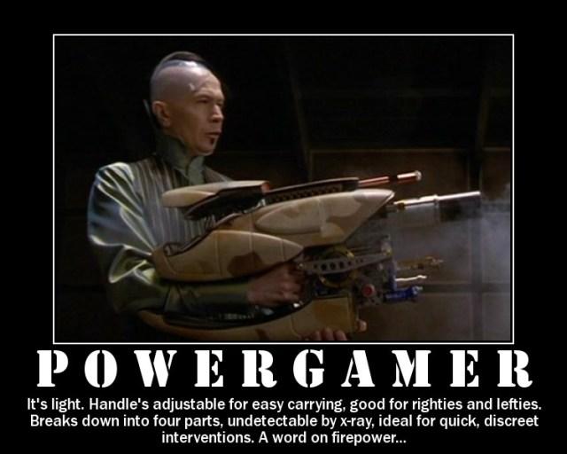 """Response to """"Power Gaming"""" videos"""