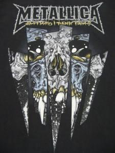 Band Metallica's art.