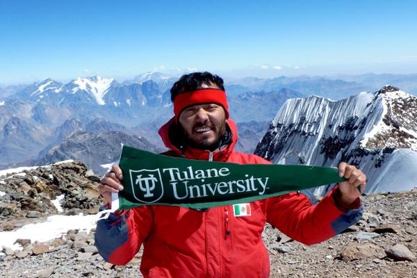 Freeman Alumn Climbs Aconcagua Mountains in Chile