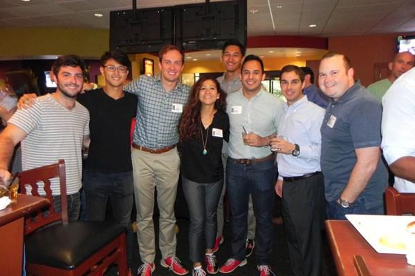 Tulane Energy Club Networking Before Houston Energy Expo