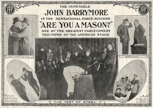 1915 silent film starring John Barrymore