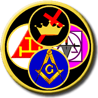 york rite, masonic logo, allied degrees, freemason information
