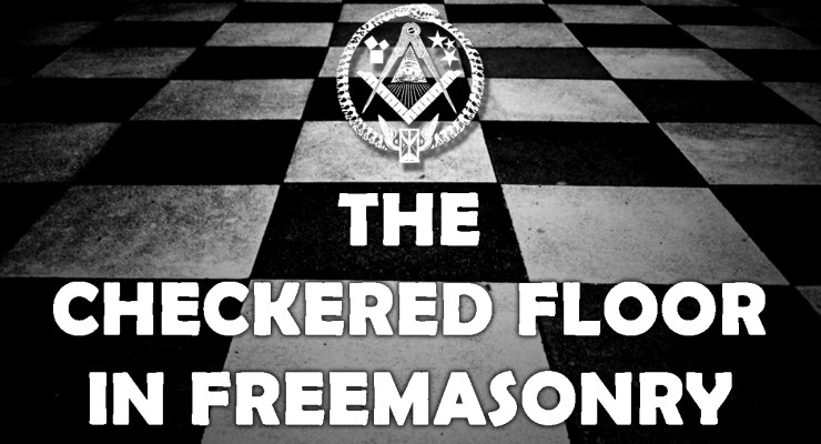 black and white,floor,checkers,good,evil