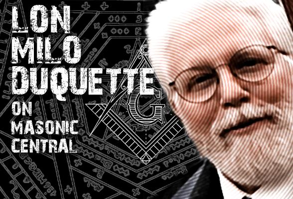 Lon Milo DuQuette on Masonic Central