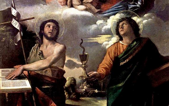 winter Solstice, holy Saints John, John the Evangelist