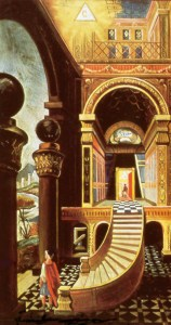 Masonic symbols, tracing board, second degree, 2 degree