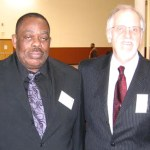 Fred with renowned Masonic author Alton Roundtree