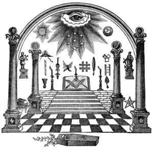 masonic eye