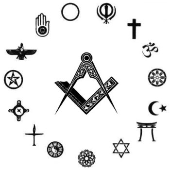 religious symbols, faith, square and compass, freemason information
