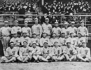 English: The 1919 Chicago White Sox Team Photo (Photo credit: Wikipedia)