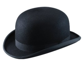 Christys London Fur Felt Bowler Chaplin