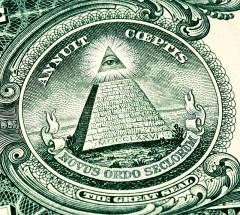 illuminati symbol on american money