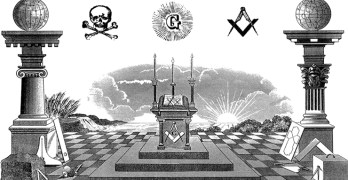 masonic symbolism, pillars, square and compass