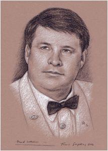 art, illustration, portrait, Travis Simpkins