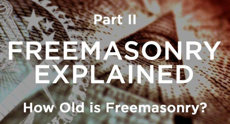 age of freemasonry, history