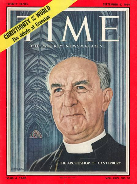 Freemason & Archbishop of Canterbury - Dr Geoffrey Francis Fisher (1887-1972)