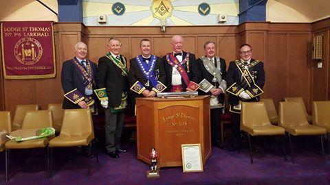Lodge St. Thomas No.306 - PGL of Lanarkshire Middle Ward