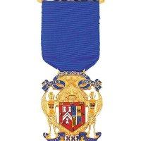 Wearing the Tercentenary Jewel